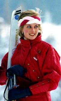 Princess-Diana-On-A-Ski-ing-Holiday
