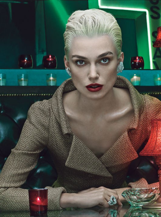 """""""Time is on Their Side,"""" photographed by Steven Klein; W magazine November 2012."""